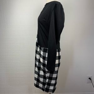 Baby Online Dresses - BabyOnline Dress Black White Plaid Long Sleeve NWT